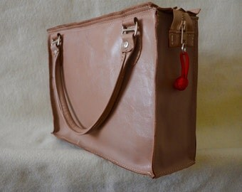 Tan Goat Skin Handbag