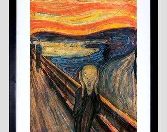 Art Print - Painting Munch The Scream Poster FE806OM