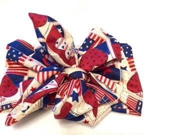 God Bless America head wrap