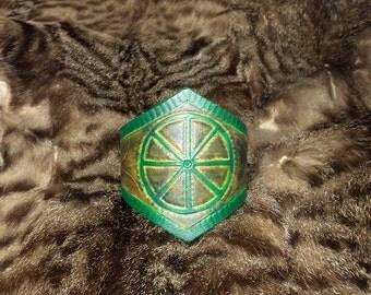 Bracelet pattern solar wheel