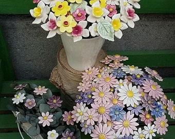Ceramic Handmade Flowers