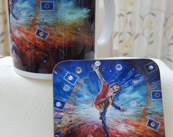 The Fool Mug & Coaster Set