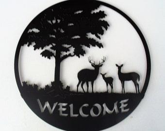 Deer, Welcome