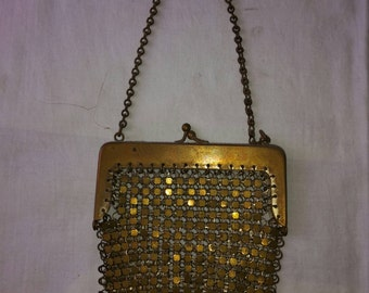 Brass little purse