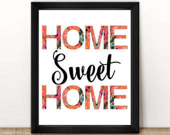 Home Sweet Home Print | 8x10"