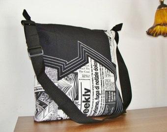 Tapestry shoulder bag. Exclusive (only copy). Craft.