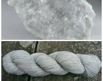 Hand Dyed Sock Yarn, Merino, Nylon, Fingering Weight Tonal Sock Yarn, Perfect for Socks, Shawls and Other Lightweight Accessories - Calcite