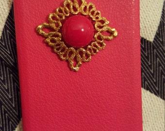 Catalina (iPhone 6/6S slim flip cellphone case, red)