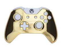 Chrome Gold & White - Custom Xbox One Controller