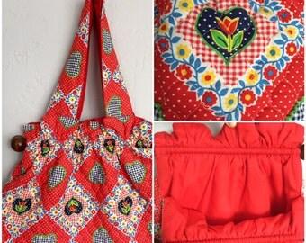 Vintage Quilt Purse