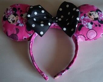 Hand Made Minnie Ears