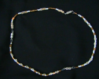 Convertible Metallic Necklace and Bracelets