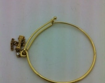charm bracelet  diploma congratulations
