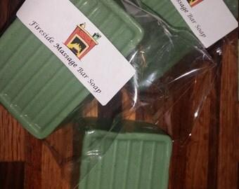 Organic Fireside massage bar soap