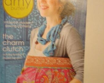 amy butler midwest modern sewing patterns the charm clutch