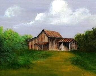 Rustic Tractor Barn