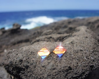 Diamond Sunset Earrings