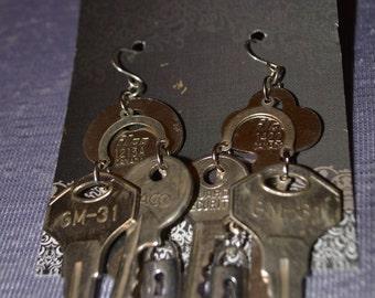 Keys and a lock