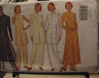 PATTERN BUTTERICK 5944 dress pants tunic or Pajamas of Interior