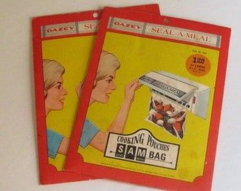Dazey SEAL-A-MEAL Cooking Pouches