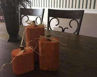 Fall Pumpkin Figurine