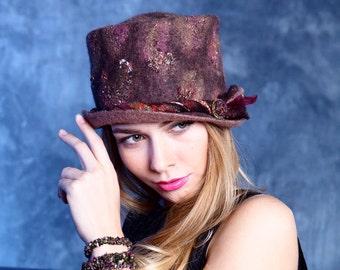 """Hat of felt """"Gem"""""""