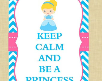 Cinderella Keep Calm Art