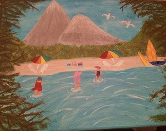 Mom's island getaway