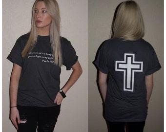 Bible Verse Shirt christian faith shirt psalm shirt