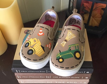 Hand Painted Children's Shoes
