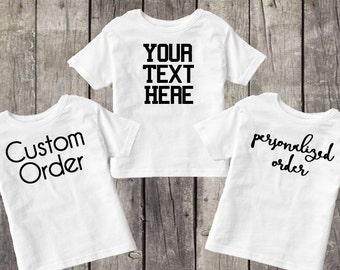 "Shop ""custom shirts"" in Girls' Clothing"