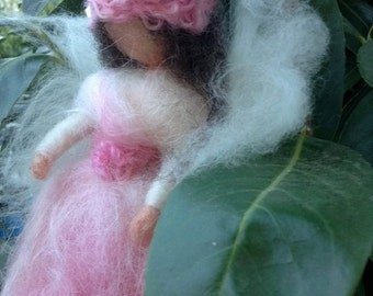 Wool rose fairy