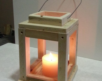 RECYCLED CANDLE LANTERN
