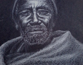 African Man, original drawing