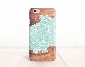 iPhone 6S Plus Case Lace iPhone 6 Case Wood Samsung Galaxy S6 Case iPhone 5 Case Wood iPhone 6 plus Case iPhone 6s Case Mint Note 4 Case