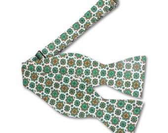 Green Mens Bow tie