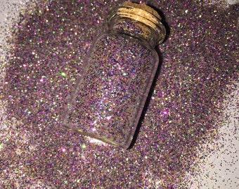 Rainbow glitter pigment