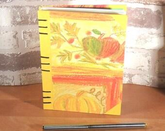 Notebook A6 autumn / / journal / / gift / / memories / / balnko