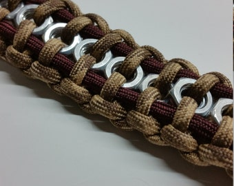 Hex Nut Paracord Bracelet