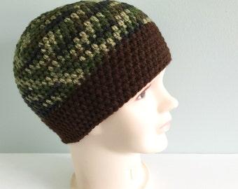 Boy hat/ camouflage colors