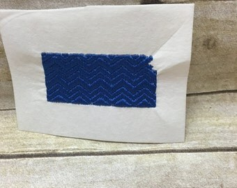 Kansas Embroidery Design Chevron, Kansas Chevron Embroidey Design