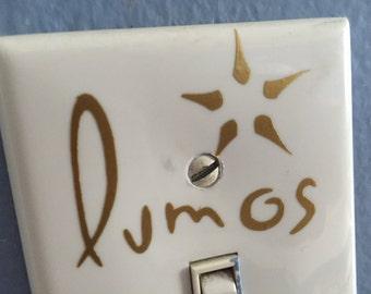 Harry Potter decal - Lumos Light switch decal - Lumos nox light switch