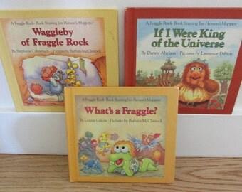 3 Fraggle Rock Books