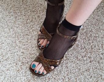 Toeless sandal sock/stocking
