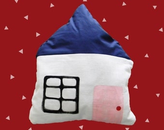 Little White House Pillow