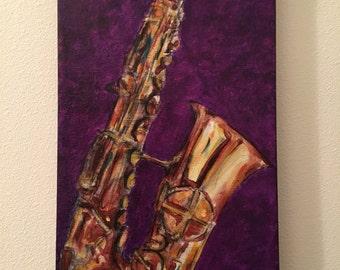 Saxophone 2015 Lauren Vicknair