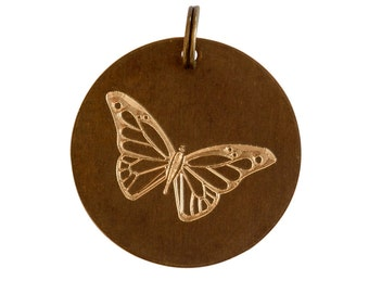 Butterfly Charm 25mm FREE SHIPPING WORLDWIDE