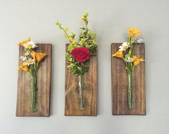 Flower Wall Display