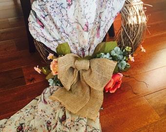 Handmade decorative wreath