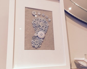 Handcrafted 'New Baby ' Frame
